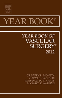 Cover image for Year Book of Vascular Surgery 2012
