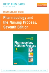 Pharmacology Online for Pharmacology and the Nursing Process (Retail Access Card)