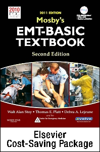 Mosby's EMT-Basic Textbook (Revised Reprint, 2011 Update) - Text and Workbook Package