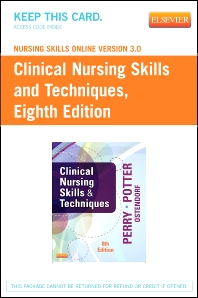 Nursing Skills Online Version 3.0 for Clinical Nursing Skills and Techniques (Access Code)