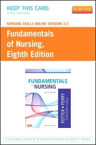 Nursing Skills Online Version 3.0 for Fundamentals of Nursing (Access Code) - 8th Edition - ISBN: 9780323100809