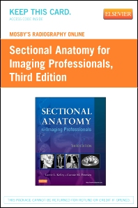 Mosby's Radiography Online for Sectional Anatomy for Imaging Professionals (Access Code) - 3rd Edition - ISBN: 9780323100878
