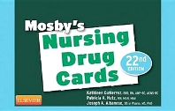 Cover image for Mosby's Nursing Drug Cards