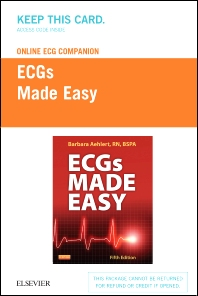 Online ECG Companion for ECGs Made Easy (Access Code) - 5th Edition - ISBN: 9780323101073