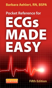 Pocket Reference for ECGs Made Easy - 5th Edition
