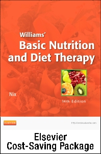 Cover image for Nutrition Concepts Online for Williams' Basic Nutrition and Diet Therapy (Access Code and Textbook Package)