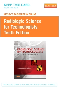 Mosby's Radiography Online for Radiologic Science for Technologists (Access Code)