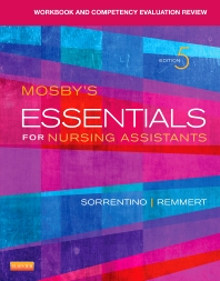 Cover image for Workbook and Competency Evaluation Review for Mosby's Essentials for Nursing Assistants