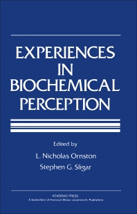 9780323152037 - Experiences in Biochemical Perception - كتاب
