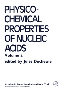 9780323152587 - Structural Studies on Nucleic acids and Other Biopolymers - كتاب