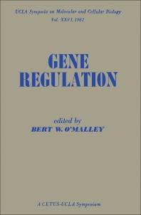 9780323152907 - Gene Regulation - كتاب