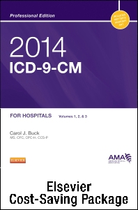 2014 ICD-9-CM for Hospitals, Volumes 1, 2, and 3 Professional Edition, 2013 HCPCS Level II Standard Edition and 2013 CPT Professional Edition Package