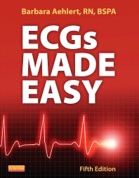 Cover image for ECGs Made Easy Textbook