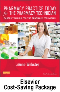 Cover image for Pharmacy Practice Today for the Pharmacy Technician Textbook & Workbook Package