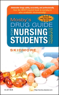 Mosby's Drug Guide for Nursing Students, with 2016 Update - 11th Edition - ISBN: 9780323172974, 9780323394536