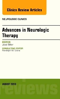 Cover image for Advances in Neurologic Therapy, An issue of Neurologic Clinics
