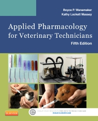 Cover image for Applied Pharmacology for Veterinary Technicians