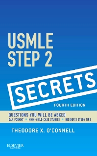 USMLE Step 2 Secrets, 4th Edition,Theodore O'Connell,ISBN9780323188142
