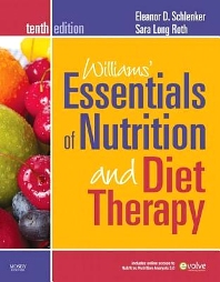 Cover image for Williams' Essentials of Nutrition and Diet Therapy - Revised Reprint