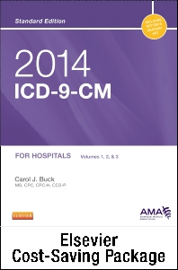 2014 ICD-9-CM for Hospitals, Volumes 1, 2 & 3 Standard Edition with CPT 2014 Standard Edition Package