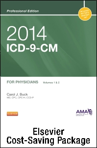 2014 ICD-9-CM, for Physicians, Volumes 1 and 2 Professional Edition (Spiral bound) with 2013 HCPCS Level II Professional Edition and 2014 CPT Professional Edition Package