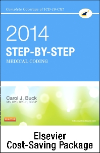 Step-by-Step Medical Coding 2014 Edition - Text, 2014 ICD-9-CM for Hospitals, Volumes 1, 2 & 3 Standard Edition, 2014 HCPCS Level II Standard Edition and CPT 2014 Standard Edition Package