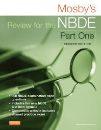 Cover image for Mosby's Review for the NBDE Part I