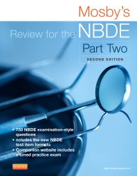 Cover image for Mosby's Review for the NBDE Part II