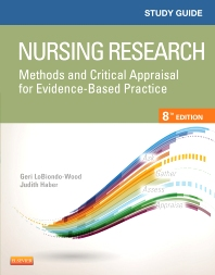 Cover image for Study Guide for Nursing Research