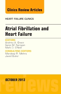 Cover image for Atrial Fibrillation and Heart Failure, An Issue of Heart Failure Clinics