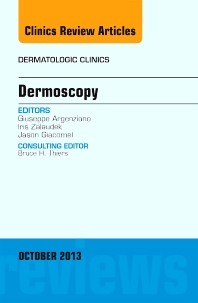 Cover image for Dermoscopy, an Issue of Dermatologic Clinics