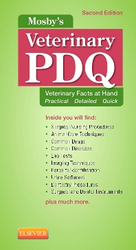 Mosby's Veterinary PDQ - 2nd Edition - ISBN: 9780323240666, 9780323241588
