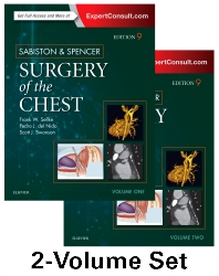 Cover image for Sabiston and Spencer Surgery of the Chest