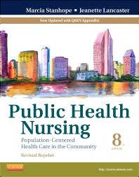 Cover image for Public Health Nursing - Revised Reprint