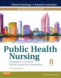 Cover image for Public Health Nursing - Revised Reprint