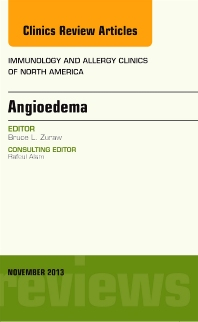Cover image for Angioedema, An Issue of Immunology and Allergy Clinics