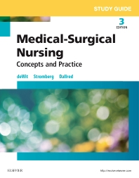 Study Guide for Medical-Surgical Nursing, 3rd Edition,Susan deWit,Holly Stromberg,Carol Dallred,ISBN9780323243834