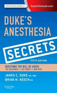 Cover image for Duke's Anesthesia Secrets