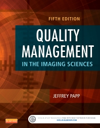 Cover image for Quality Management in the Imaging Sciences