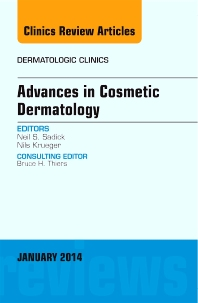 Cover image for Advances in Cosmetic Dermatology, an Issue of Dermatologic Clinics
