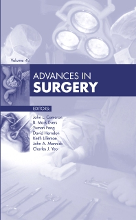 Cover image for Advances in Surgery