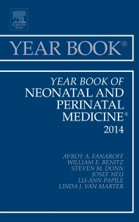 Cover image for Year Book of Neonatal and Perinatal Medicine 2014