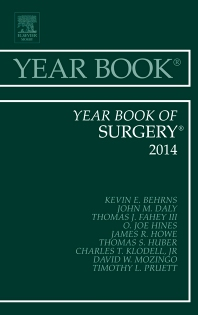 Cover image for Year Book of Surgery 2014