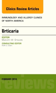 Cover image for Urticaria, An Issue of Immunology and Allergy Clinics