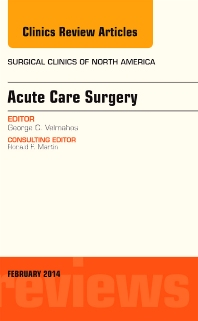 Cover image for Acute Care Surgery, An Issue of Surgical Clinics