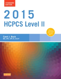 2015 HCPCS Level II Standard Edition - 1st Edition - ISBN: 9780323279840, 9780323320054