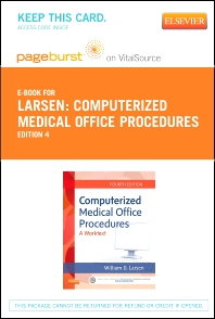 Computerized Medical Office Procedures Elsevier eBook on VitalSource (Retail Access Card) and Medisoft v18 Student Demo CD Package