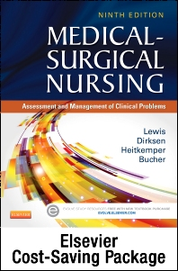 Cover image for Medical-Surgical Nursing - Single-Volume Text and Elsevier Adaptive Learning Package