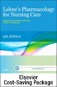 Cover image for Lehne's Pharmacology for Nursing Care - Text and Elsevier Adaptive Learning Package