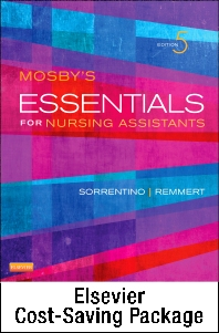 Cover image for Mosby's Essentials for Nursing Assistants - Text and Elsevier Adaptive Learning Package